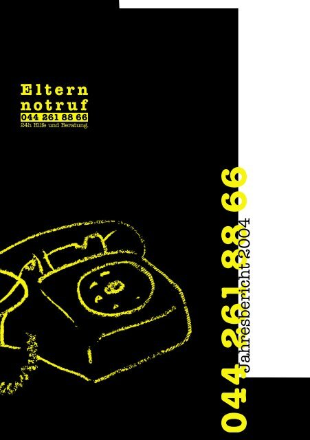 Jahresbericht 2004 - Elternnotruf