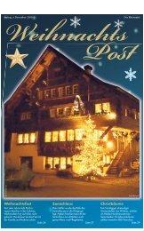 Weihnachtsfest Christbäume Samichlaus - myrheintal.ch