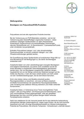 Externer Brief - Emaform AG