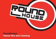 Roundhouse Venue Hire and Catering - UNSW Roundhouse