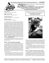 HLA-6402 - OSU Fact Sheets - Oklahoma State University