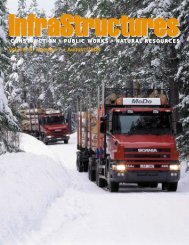 Volume 8, Number 7 • August 2003 - InfraStructures