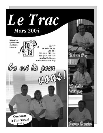 Le Trac - Fédération Québécoise du Théâtre Amateur