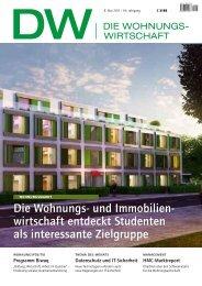 die Wohnungs- und immobilien- wirtschaft entdeckt ... - Haufe.de