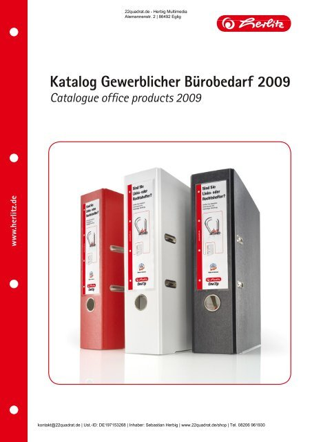 braun 100 St/ück Herlitz 10843373 H/ängetasche mit Leinenfr/öschen A4