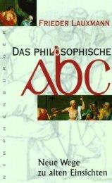 Frieder Lauxmann Philosophisches ABC