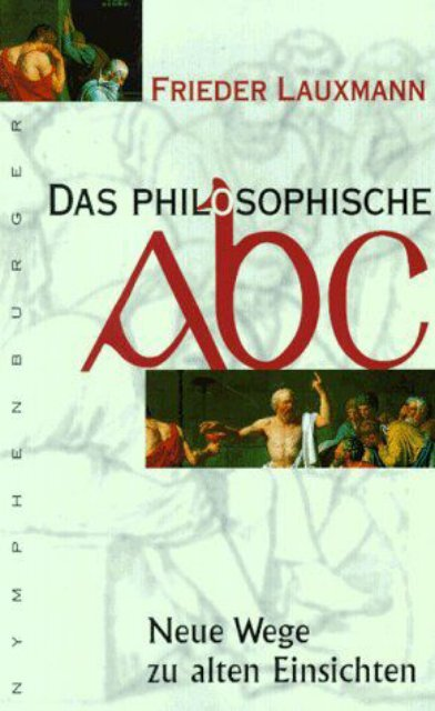 Frieder Lauxmann Philosophisches ABC