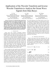 Application of the wavelet transform to nanoscale thermal transport
