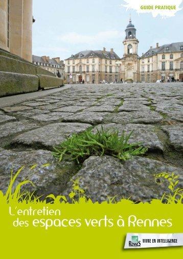 Entretien des espaces verts à Rennes - Ville de Rennes
