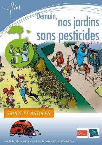 Nos jardins sans pesticides - SIEL