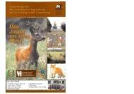 Die Jagdbeilage 2007 - Jägerschaft Cloppenburg