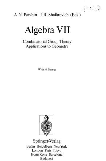 Algebra VII - bib tiera ru static