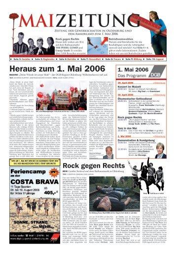 die 1. Maizeitung - DGB Jugend Niedersachsen und Bremen