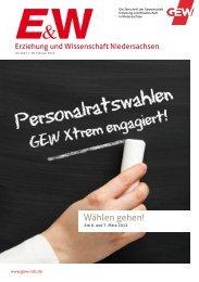 Ausgabe mit Kandidatenprospekt Osnabrück - GEW Niedersachsen
