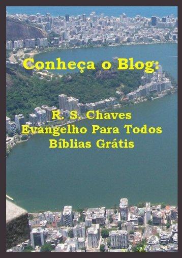Conheça o Blog Evangelho Para Todos - Biblias Gratis