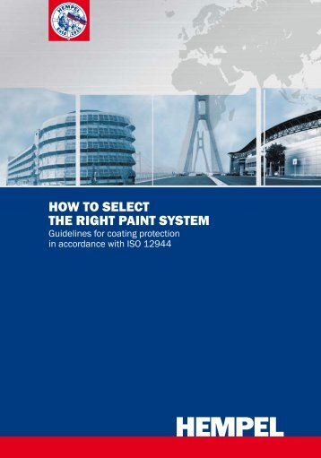 How To Select The Right Paint System - ISO - Hempel