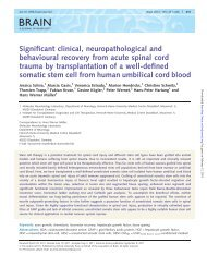 Significant clinical, neuropathological and behavioural ... - Brain