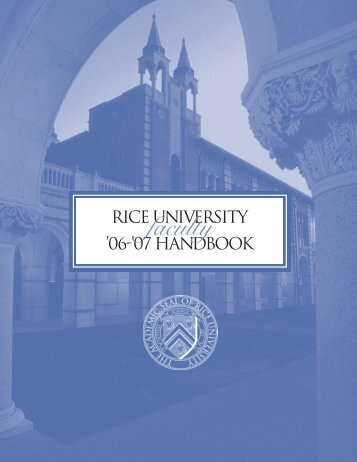faculty - Rice University