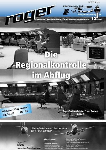 Roger Ausgabe 12 2006 - Roger - Luftfahrtnachrichten für Berlin ...