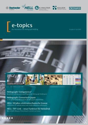 Juni - helioscope Newsletter