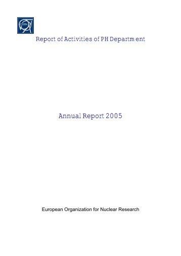 ALEPH Institutes (as of 01 - CERN | Scientific Information Service