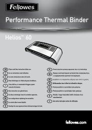 Performance Thermal Binder - Fellowes