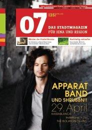 AppArAt bAnd - 07 Das Stadtmagazin . BLOG