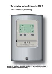 handleiding TDC3 besturing - Helios Energie Systemen