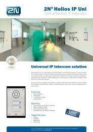 2N® Helios IP Uni - Phone Master