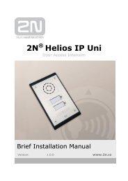 2N Helios IP Uni - Phone Master