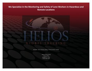 "Helios ""E - Box"" - Helios Global Tracking"