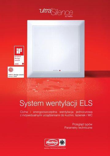 System wentylacji ELS - Katalog [3.9 Mb] - istpol