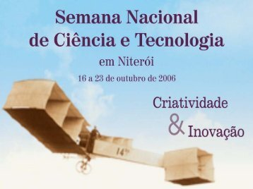 Clique aqui para fazer Download - Semana Nacional de Ciência e ...