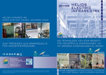 HELIOS ELECTRIC INFRAREDIRK - heizstrahler.biz