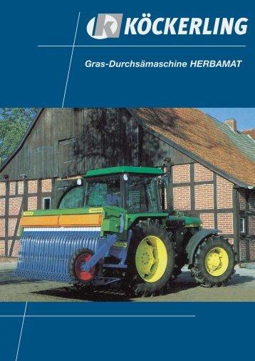 Gras-Durchsämaschine HERBAMAT