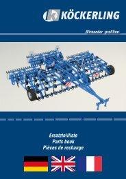 Ersatzteilliste Parts book Pièces de rechange