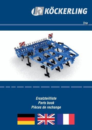 parts book TRIO 090608
