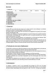 Rapport d'activité en PDF - EMJB
