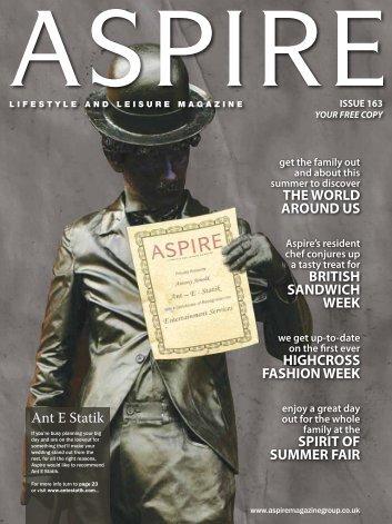 Ant E Statik THE WORLD AROUND US BRITISH ... - Aspire Magazine
