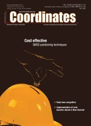 June 2011 - Coordinates : A resource on positioning, navigation and ...