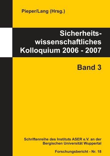 Download (PDF-Datei 6,9 MB) - und Qualitätsrecht - Bergische ...
