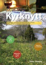 Kyrknytt nr 6 2012 - Nybro Pastorat