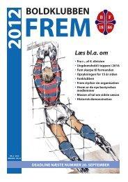 Medlemsblad nr. 2 - 2012 - Boldklubben FREM