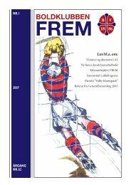 Medlemsblad nr. 1 - 2007 - Boldklubben FREM