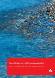 Geschäftsbericht 2006 | Sparkasse Krefeld