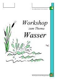 Workshop Wasser - Bezirksgemeinschaft Burggrafenamt