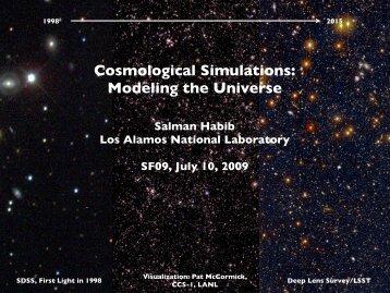 Salman Habib - Los Alamos National Laboratory