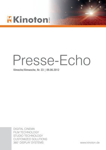 Download article (PDF) - Kinoton