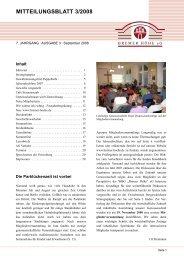 """September 2008 - """"Bremer Höhe"""" eG"""