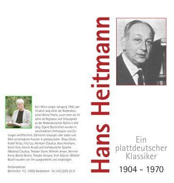 Hans Heitmann - Karl-Heinz Langer